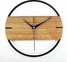 JinRou modern/antik Creative Arts Uhren Wanduhr mute Dekorationen