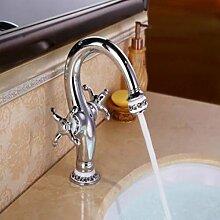 JinRou moderner Luxus Badezimmer Waschbecken Wasserhahn