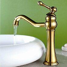 JinRou modernes Badezimmer Waschbecken Wasserhahn ein Loch einzelne Griffe Badezimmer Waschbecken Wasserhahn