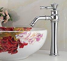 JinRou modernes Badezimmer Waschbecken Wasserhahn zeitgenössische Badezimmer Waschbecken Wasserhahn kalte und heiße Wasserhähne