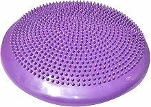 JINSEQ 33x33 cm Aufblasbare Yoga Massage Ball