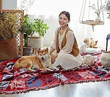 JINSH Home Linie Decke Sofa Decke Sofa Handtuch