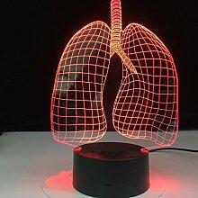 Jinson well 3D Art der Lunge Lampe optische