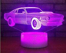 Jinson well 3D Auto Lampe optische Illusion