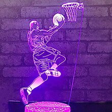 Jinson well 3D Basketball Lampe led Illusion
