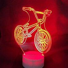 Jinson well 3D Fahrrad Lampe led Illusion