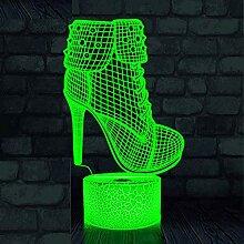 Jinson well 3D High heels Lampe optische Illusion