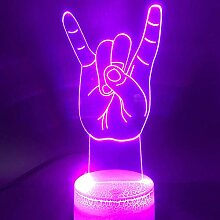 Jinson well 3D Ich liebe dich Lampe optische