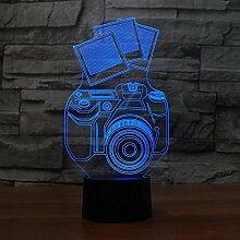 Jinson well 3D kamera Lampe led optische Illusion