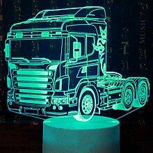 Jinson well 3D LKW Auto Lampe optische Illusion