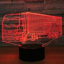 Jinson well 3D LKW Traktor Auto Lampe optische