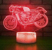 Jinson well 3D Motorrad Auto Lampe optische