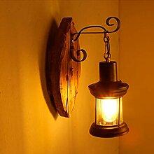 JINWELL Wandlampe E27 Vintage Edison Wandleuchte