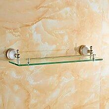 JinYiDian'Shop-Badezimmer Accessoires, Badezimmer oder Küche Handtuchhalter Halter Wandhalterung Storage Rack, Organisieren Sie alle Regal mit Handtuchhalter, Handtuchhalter, Raum Aluminium Handtuchhalter Ring