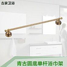 JinYiDian'Shop-Badezimmer Accessoires, Badezimmer oder Küche Handtuchhalter Halter Wandhalterung Storage Rack, Organisieren Sie alle Regal mit Handtuchhalter, Handtuchhalter, Edelstahl Single-tier Handtuchhalter, 40 cm