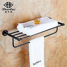 JinYiDian'Shop-Badezimmer Accessoires, Badezimmer oder Küche Handtuchhalter Halter Wandhalterung Storage Rack, Organisieren Sie alle Regal mit Handtuchhalter, Handtuchhalter Edelstahl Handtuchhalter Badezimmer Hardware Zubehör, 60 cm