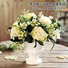 Jinyidian 'Shop-Keramik Vasen Emulation Flower