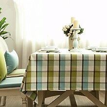 JinYiDian'Shop-Mediterrane Tischdecken, Tischdecke, einteilig, B, 140 X 220