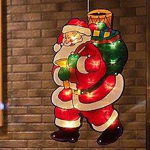JinYiny Weihnachtsbeleuchtung Doppelseitige
