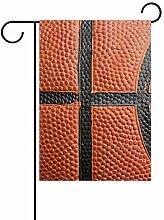 JIRT Garten-Flagge, 30,5 x 45,7 cm, Basketball,