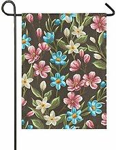 JIRT Geschenk 28 x 40 Zoll Winter Yard Banner