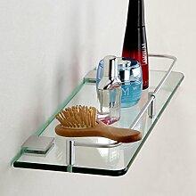 JIUCHANPIN Glas regal,Aluminium glas regal