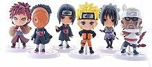 Jiusan Anime Action-Figur Naruto, 6 Styles