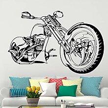 jiushizq Harley Motorrad Wandkunst Aufkleber
