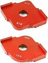 JIUY 1 Satz R10 R15 R20 R30 Holzplatte Radius R