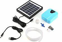 JIUY Solarbetriebene/DC Charging Oxygenator Wasser