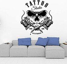 jiuyaomai Tattoo Studio Wandaufkleber Tattoo Salon