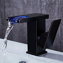 jiuzhuo Moderne Antik Schwarz LED Wasserfall