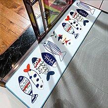 JIXIA® Kinderbettdecke Schlupfdrucktuch großen Sofa im Wohnzimmer Couchtisch Teppich , 1 , 60*180cm