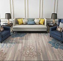 JIXIA Teppiche Dornier Wohnzimmer Teppich Rutschfeste waschbare Schlafzimmer Nachttischdecke, 1, 80x140cm