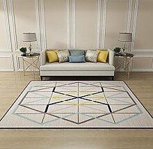 JIXIA Teppiche Wohnzimmer Schlafzimmer Teppich rechteckig Fußpolster Tür Eingang Tür Matte, 1, 60x90cm