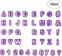 Jixista Buchstaben Ausstecher Kuchen Buchstaben