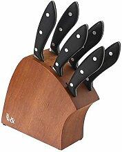 JJA 744422 Messerblock mit 6 Steakmessern,