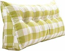 JJBZ Kissen Rücken Sofa Bett Großes gefülltes Schlafzimmer mit Doppelbett Bett Rückenlehne Kissen Sofa Kissen Büro Lendenwirbelsäule mit abnehmbaren Reinigung Kissen ( größe : 135*50*20cm )