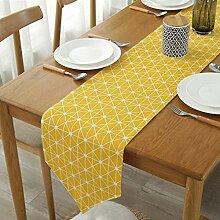 JJFJJ Untersetzer 30X220Cm Gelbe Farbe Tisch