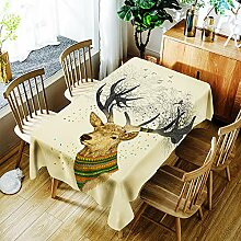 JJHR Tischwäsche 3D Tischdecke Für Restaurant