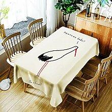 JJHR Tischwäsche 3D Tischdecke Geeignet Für