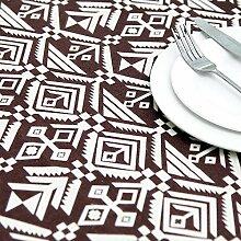 JJHR Tischwäsche Abstrakte Rechteckige Tischdecke