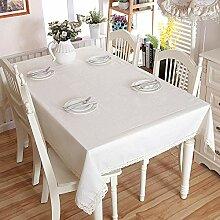JJHR Tischwäsche Baumwoll- Und Leinenverdickung