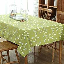 JJHR Tischwäsche Bestickte Tischdecke Polyester