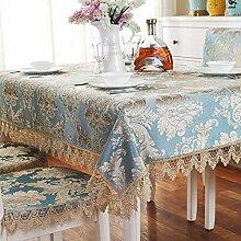 JJHR Tischwäsche Couchtisch Tischdecke Tischdecke