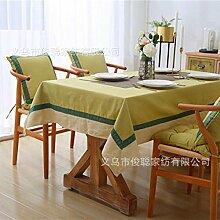 JJHR Tischwäsche Einfarbig Baumwolle Dicke