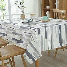 JJHR Tischwäsche Farbe Tischdecke Polyester