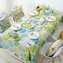 JJHR Tischwäsche Frische Tischdecke Tischdecke