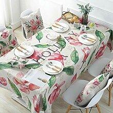 JJHR Tischwäsche Pastorale Tischdecke Tischdecke