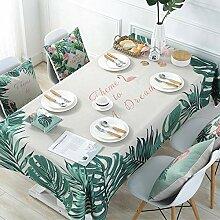 JJHR Tischwäsche Pflanzen Sie Flamingo-Serie